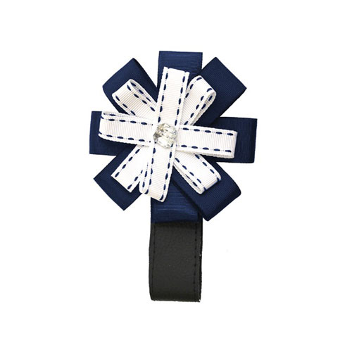 Roan Flowers (Navy White)
